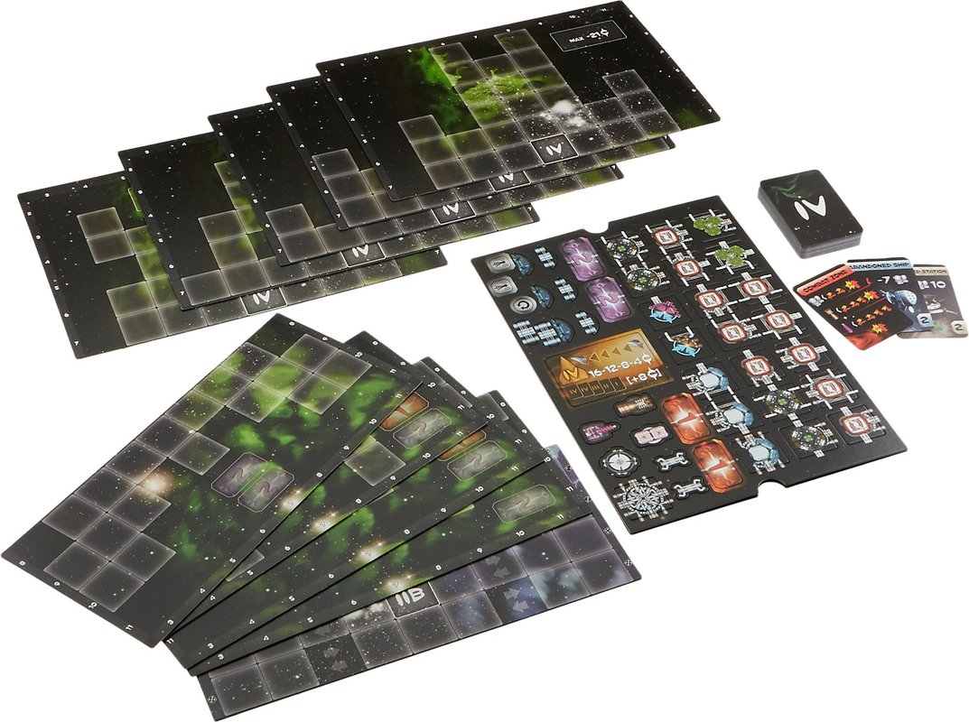 Galaxy Trucker: Another Big Expansion components