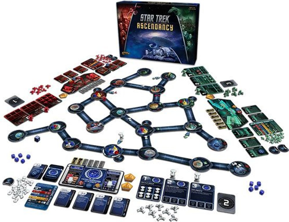 Star Trek: Ascendancy components