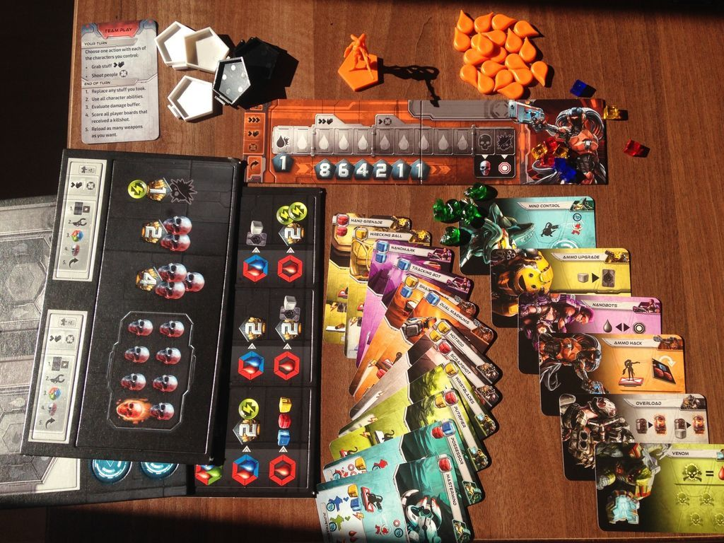 Adrenaline: Team Play DLC components