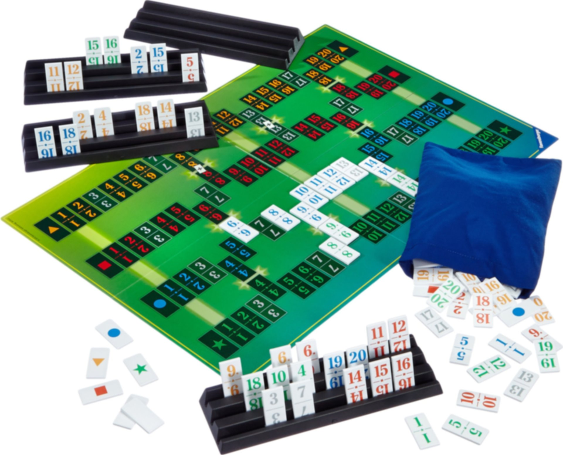 Start 11! The Board Game components