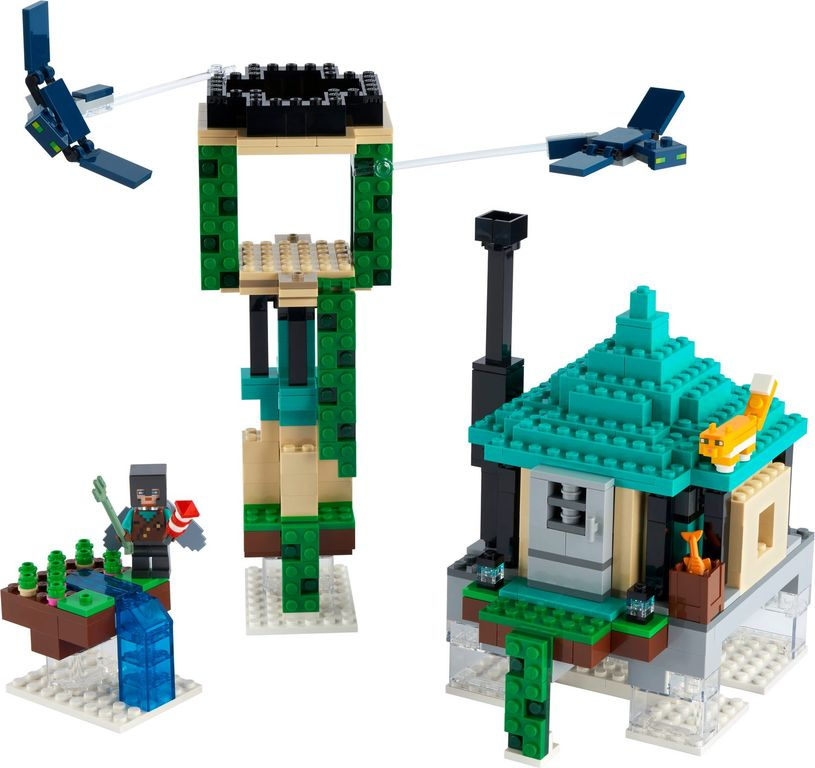LEGO® Minecraft The Sky Tower components