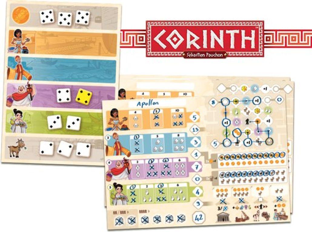 Corinth components