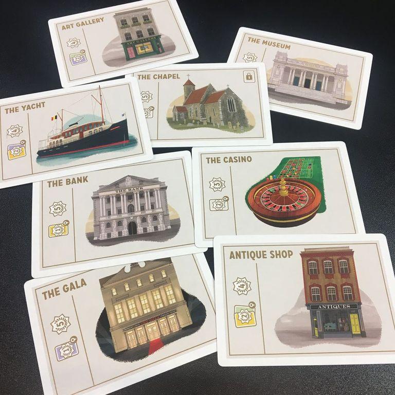 Caper cards