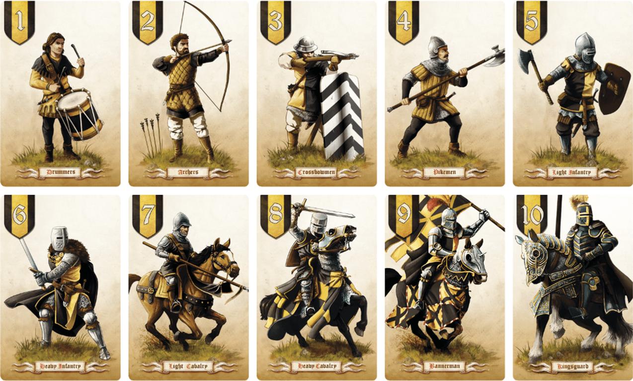 Battle Line cards