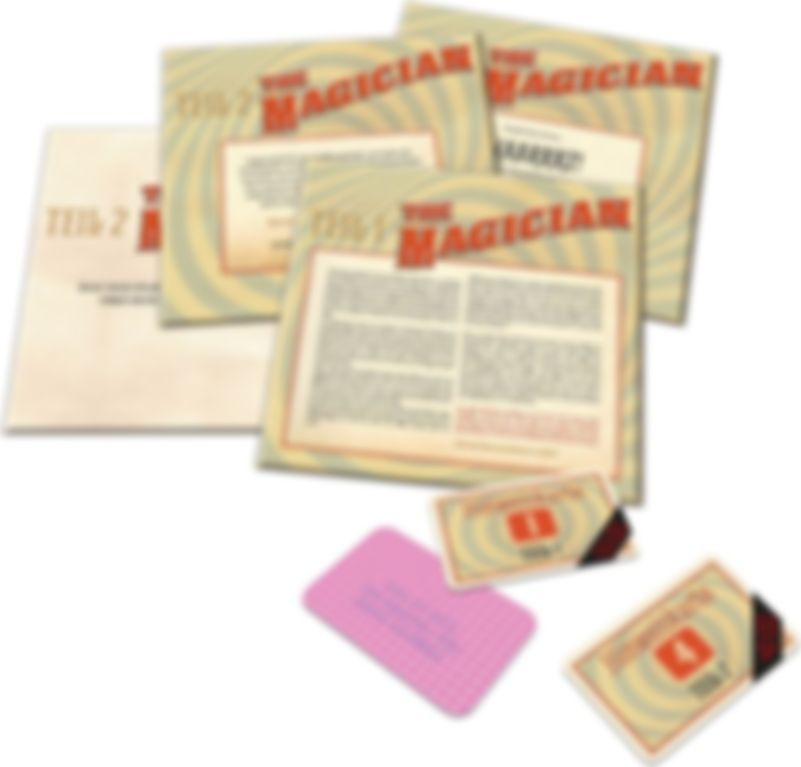 Escape Room: The Game - The Magician components
