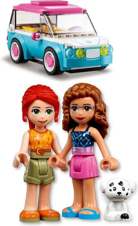 LEGO® Friends Olivia's Electric Car minifigures