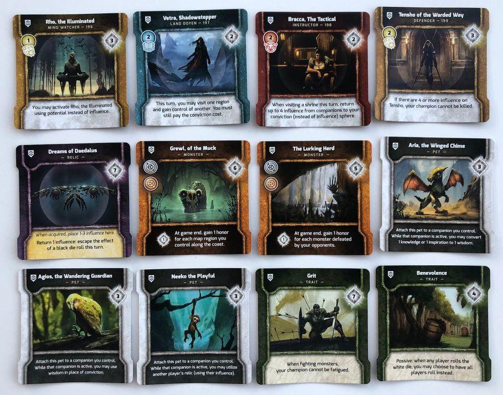 Vindication: Community Promo Pack cards
