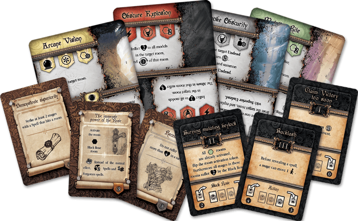 Black Rose Wars cards