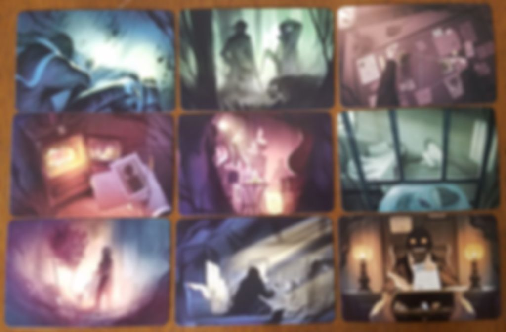 Mysterium: Secrets & Lies cards