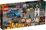 Super Hero Airport Battle back of the box