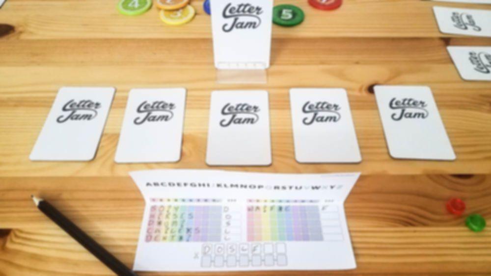 Letter Jam gameplay