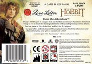 Love Letter: The Hobbit - The Battle of the Five Armies back of the box