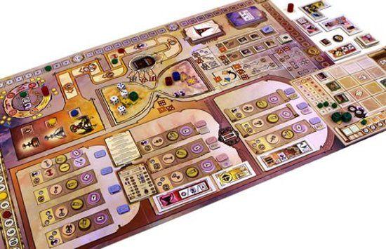 Dragonsgate College game board