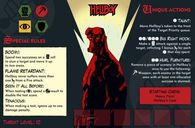Hellboy: The Board Game characters