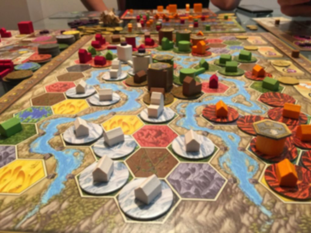Terra Mystica: Fire & Ice gameplay