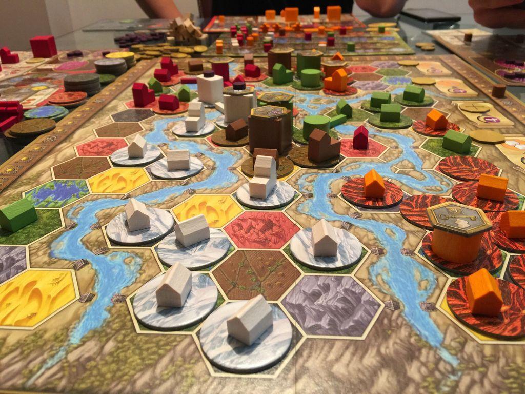 Terra Mystica: Fire & Ice gameplay