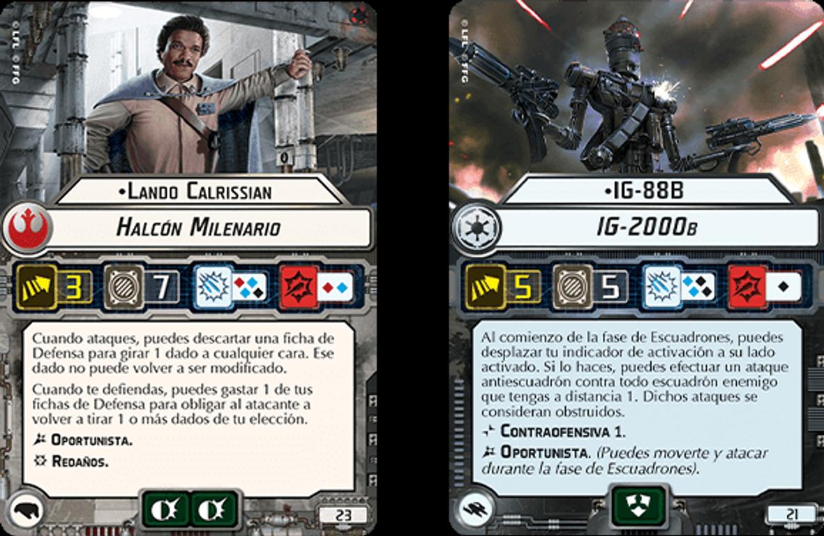 Star Wars Armada: Rebellion in the Rim cards