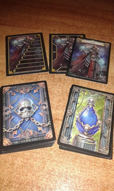 Hero Realms: Boss Deck - Lich cards