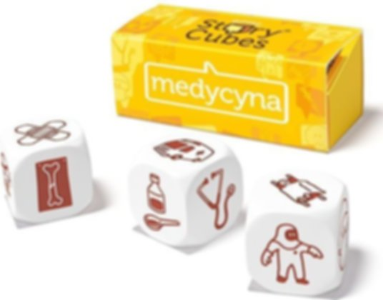 Rory's Story Cubes: Medic components