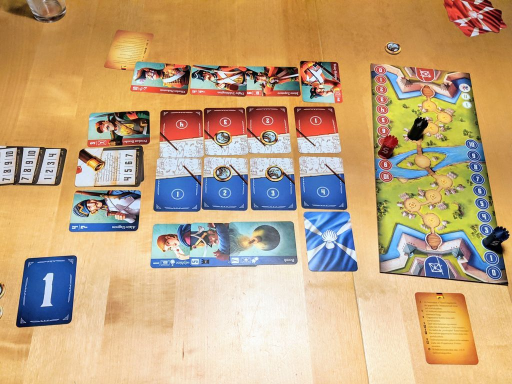 Spies & Lies: A Stratego Story components