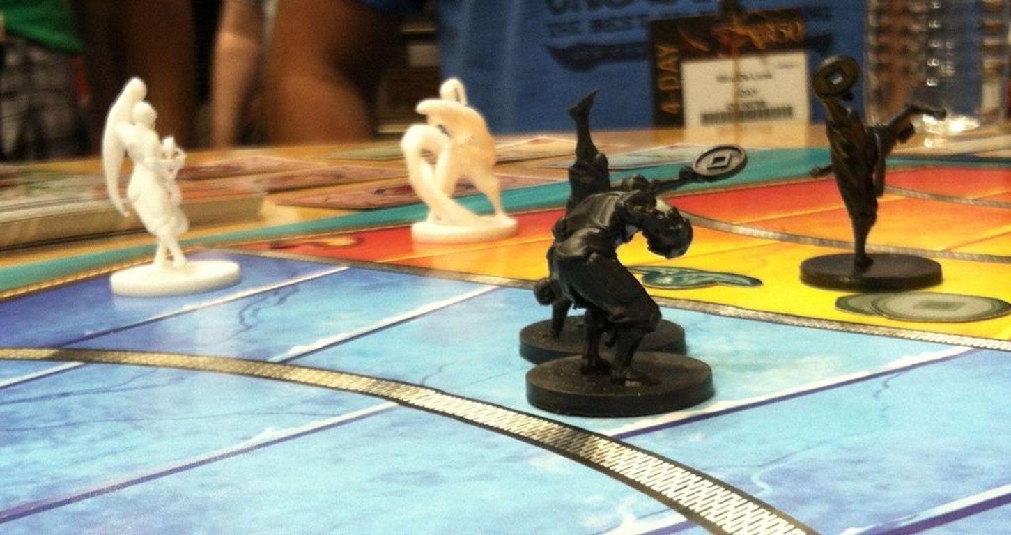 The Legend of Korra: Pro-Bending Arena miniatures
