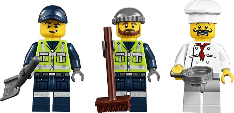 LEGO® Movie Trash Chomper minifigures