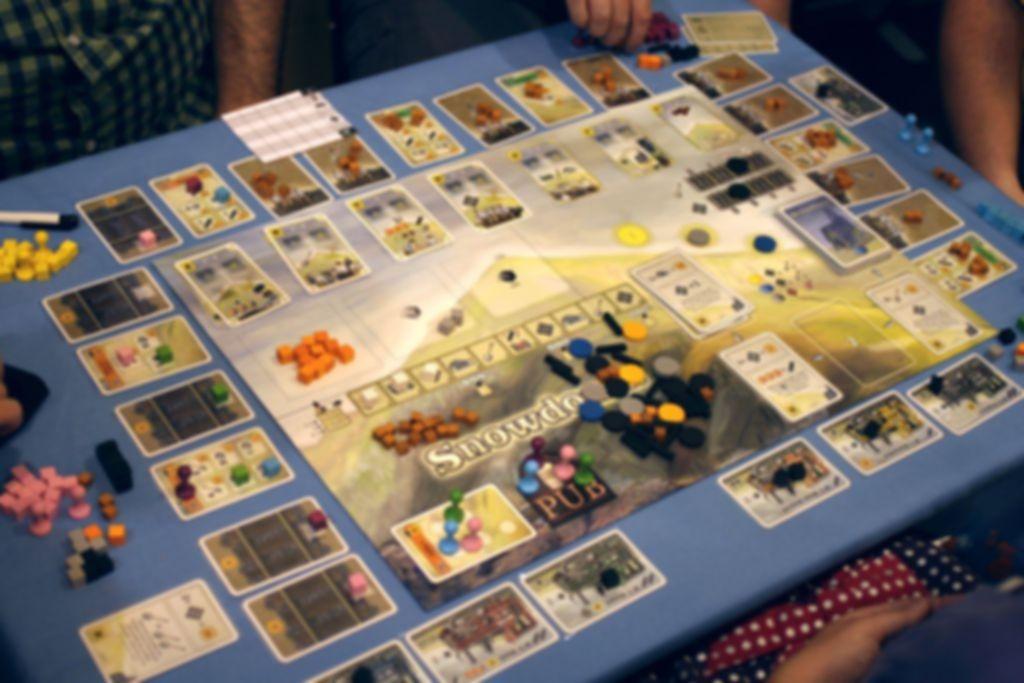 Snowdonia gameplay