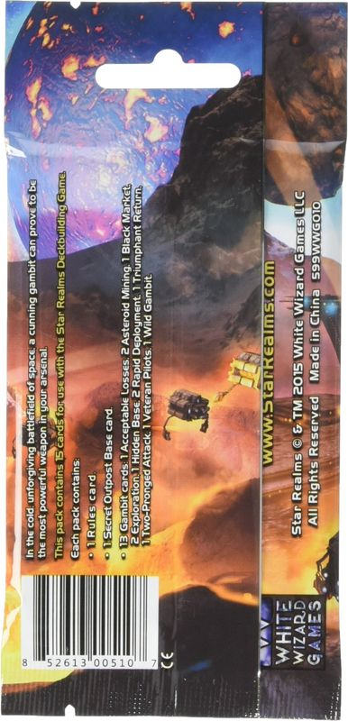 Star Realms: Cosmic Gambit Set back of the box