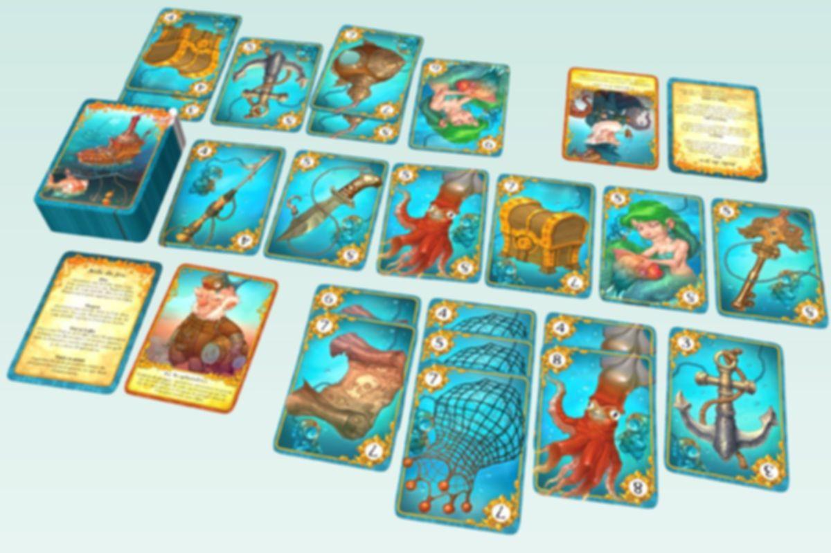 Captain Carcass cards