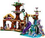 LEGO® Friends Adventure Camp Tree House back side