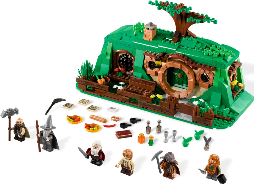 LEGO® The Hobbit An Unexpected Gathering components