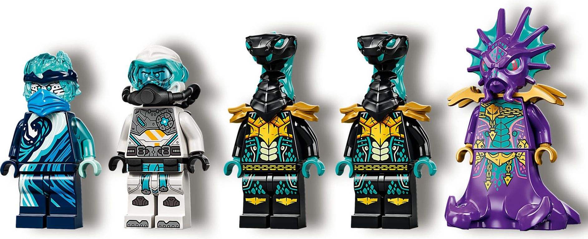 LEGO® Ninjago Water Dragon minifigures