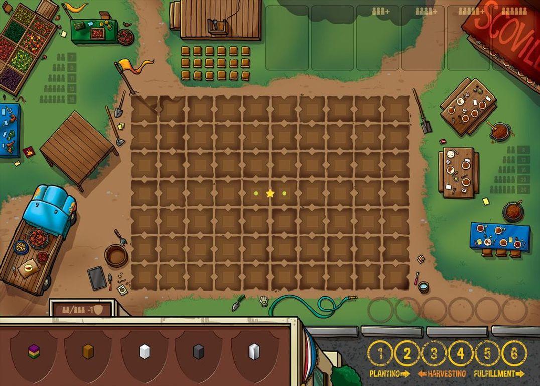 Scoville game board