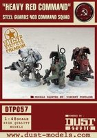 "Dust Tactics: Steel Guard NCO Command Squad - ""Heavy Red Command"""