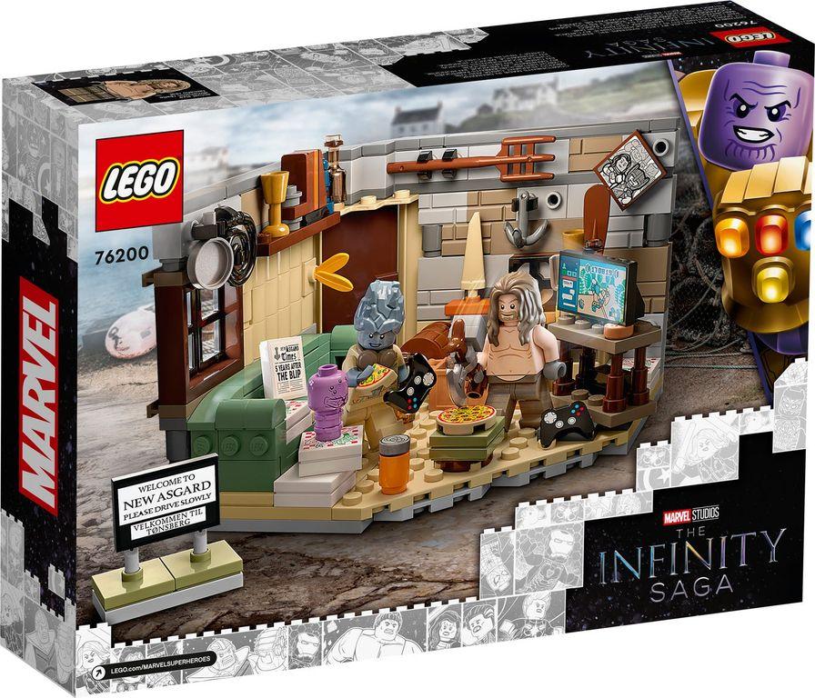 LEGO® Marvel Bro Thor's New Asgard back of the box