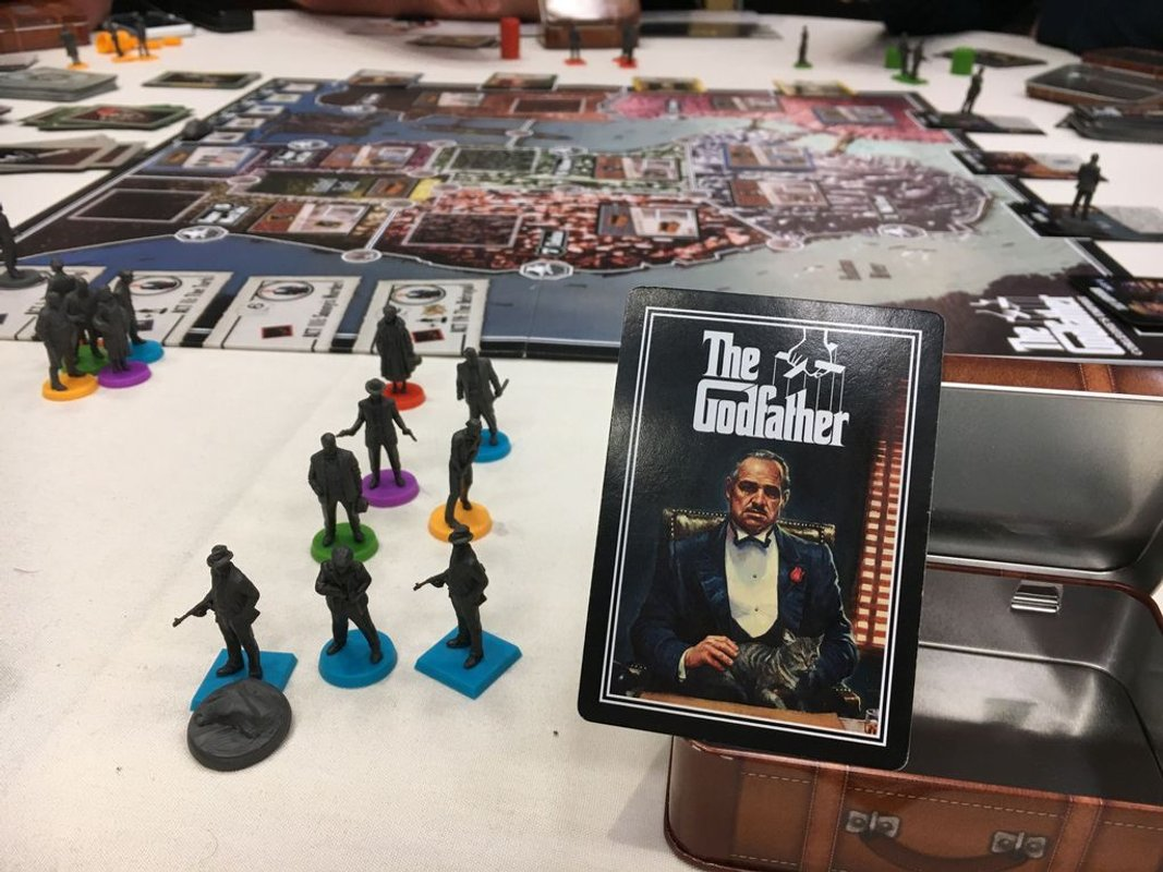 The Godfather: Corleone's Empire components