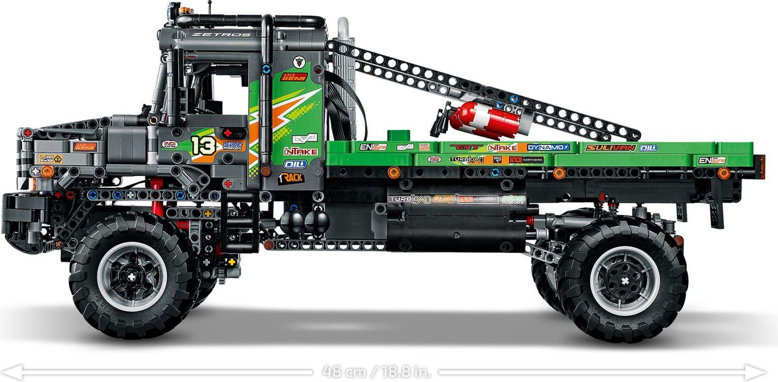 LEGO® Technic 4x4 Mercedes-Benz Zetros Trial Truck components
