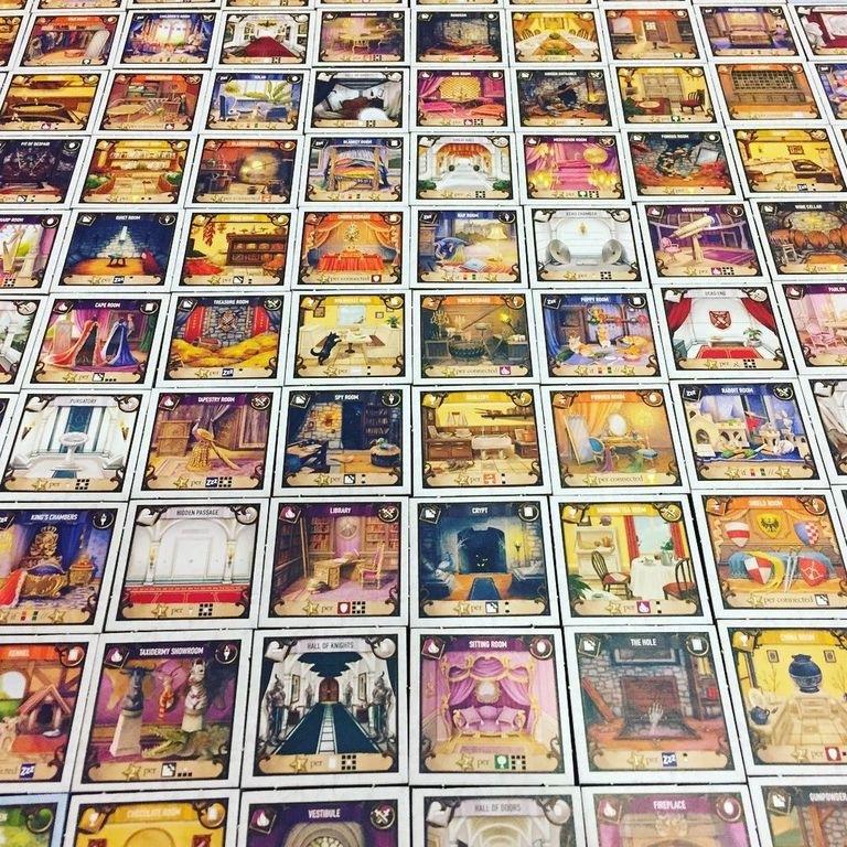 Between Two Castles of Mad King Ludwig cards