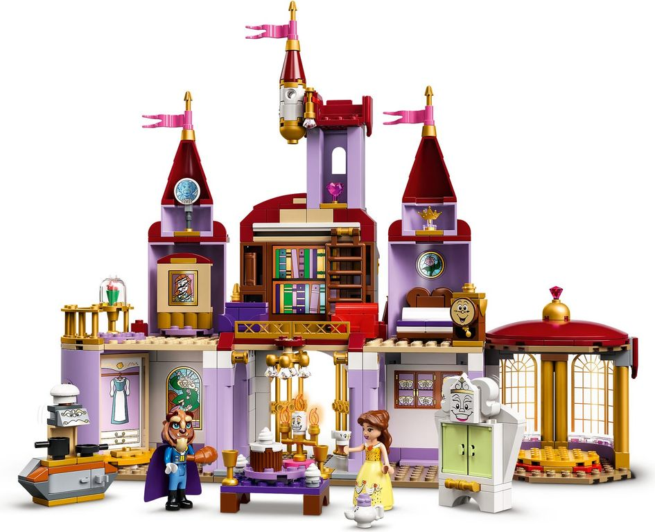LEGO® Disney Belle and the Beast's Castle gameplay
