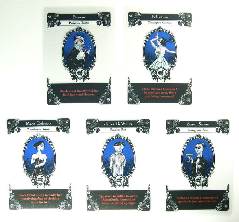 Gloom: Unhappy Homes cards