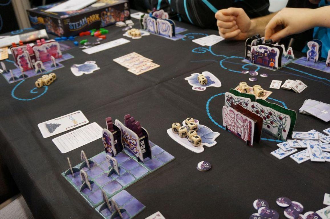 Steam park gameplay