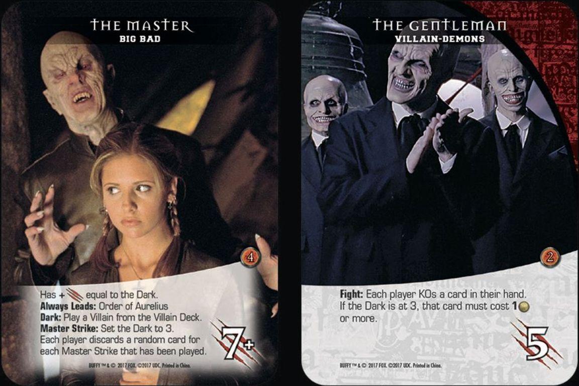 Legendary: Buffy The Vampire Slayer cards