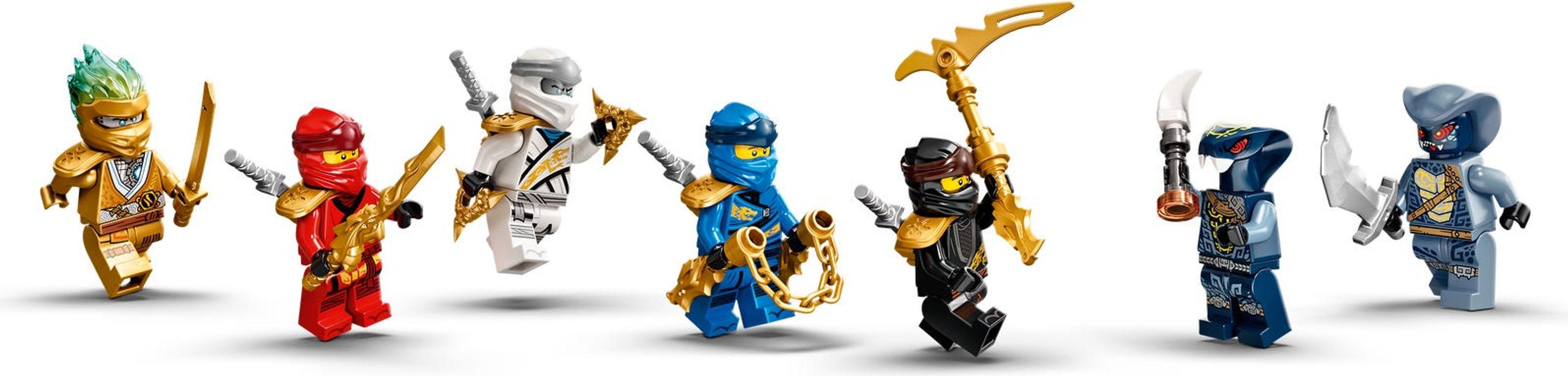 LEGO® Ninjago Ultra Sonic Raider minifigures