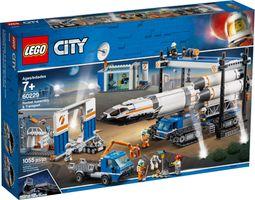 LEGO® City Rocket Assembly & Transport