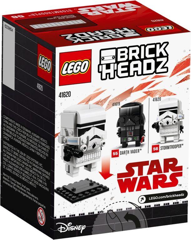 LEGO® BrickHeadz™ Stormtrooper™ back of the box