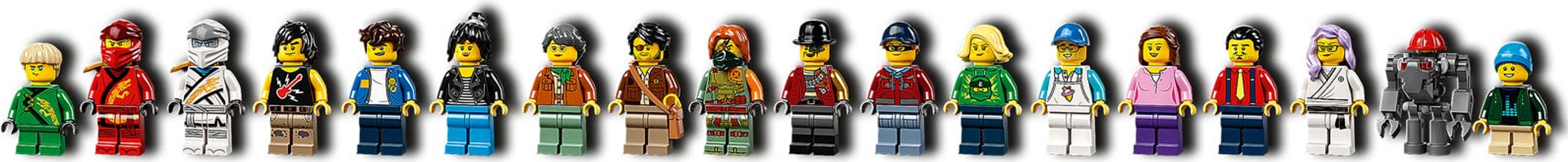 LEGO® Ninjago NINJAGO® City Gardens minifigures