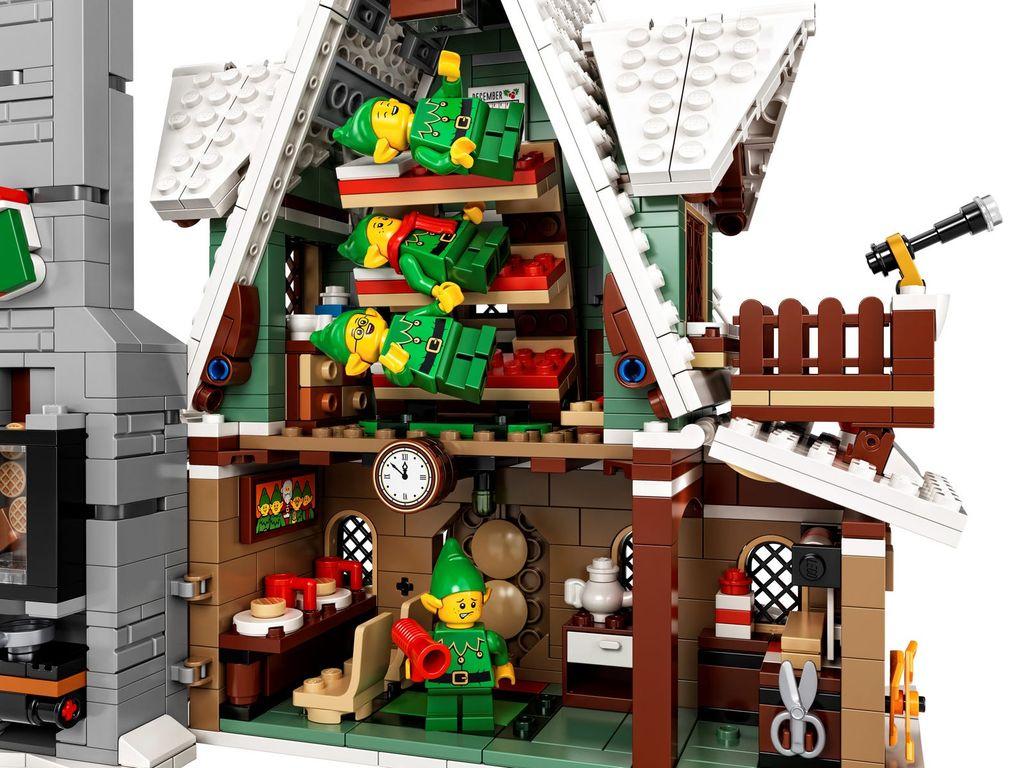 Elf Club House interior