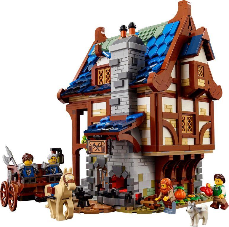 Medieval Blacksmith building