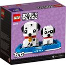 LEGO® BrickHeadz™ Dalmatian back of the box