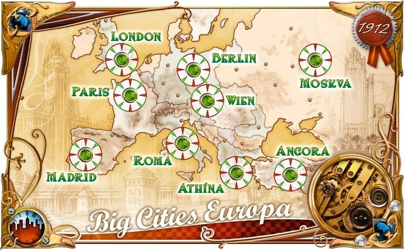 Ticket to Ride: Europa 1912 cards